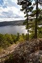 Free Carpenter Lake Clear Water Vista Stock Photography - 21400402