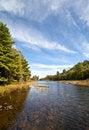 Free Carpenter Lake Clear Water Landscape Vista Royalty Free Stock Image - 21402036