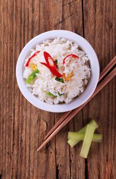 Free Bowl Of Rice Stock Image - 21403871