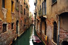 Free Venetian Canal Stock Photography - 21404732