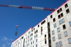 Free Construction Site And Crane Jib Stock Image - 21406121