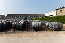 Free Wine Barrels Royalty Free Stock Photos - 21406788