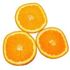 Free Orange Slices. Stock Image - 21407911