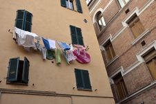 Washed Clothes Stock Images