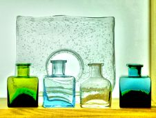 Free Colorful Glass Bottles Stock Photos - 21410243