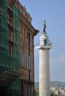 Free Trajan Column Stock Images - 21410564