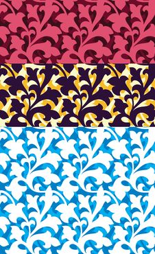 Free Seamless Floral Pattern Royalty Free Stock Photos - 21413078