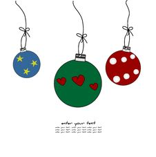Free Christmas Background Royalty Free Stock Photo - 21414765