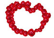 Free Rose Heart Stock Photos - 21418343