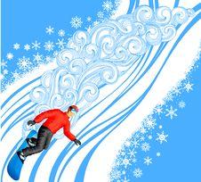 Free Snowboarding Stock Image - 21419841