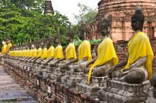 Free Ancient Image Buddha Statue Royalty Free Stock Photography - 21420207