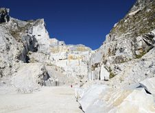 Free Marble Quarry Royalty Free Stock Photo - 21423765
