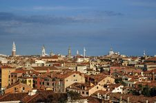 Free Venice From Roof Stock Photos - 21424323
