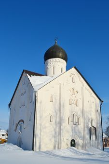 Old Church In Veliky Novgorod. Royalty Free Stock Images