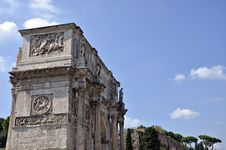 Free Arch Of Constantine Stock Photo - 21426800