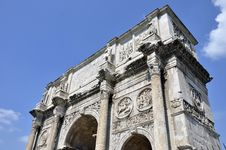 Free Constantine Arch Stock Images - 21426834