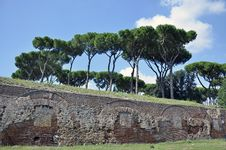 Free Ruins Wall Rome Stock Images - 21426994