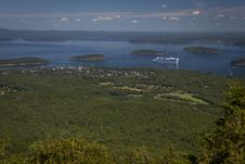 Maine, Cadillac Mountain Stock Images
