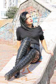 Free Beautiful Sensitive Woman Stock Photography - 21428192