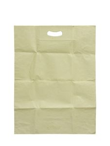 Free Brown Paper Bag Isolated Royalty Free Stock Photos - 21428228
