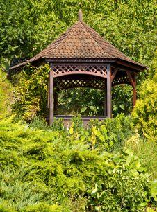 Free Decorative Garden House Stock Image - 21432651