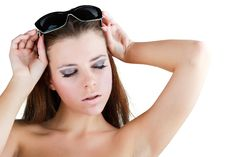 Free Beautiful Girl In Sunglasses Stock Photos - 21435023