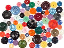 Free Colored Buttons Royalty Free Stock Photo - 21435055