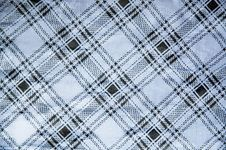 Free Grid On Blue Satin Fabric Royalty Free Stock Photos - 21436058