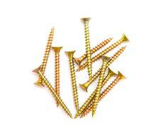 Free Yellow Screws Stock Image - 21436431