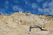 Free An Old Stone Quarry Royalty Free Stock Image - 21437356