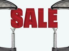 Free SALE Royalty Free Stock Photos - 21438338