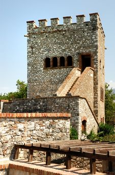 Free Old Fortress Of Butrint City. Stock Image - 21438841