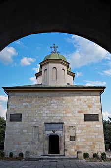 Free Negru Voda Monastery Stock Photo - 21439730