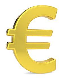 Free Euro Symbol Stock Photo - 21441620