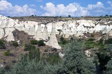 Free Landscape In Cappadocia Stock Photography - 21442322