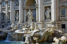 Free Trevi At Evening Stock Photo - 21442470