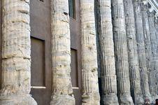 Free Pantheon Columns Stock Image - 21442481