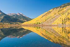Crystal Lake Reflections Royalty Free Stock Photography