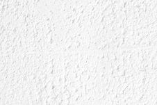 Free White Stucco Wall Background Royalty Free Stock Photography - 21445157