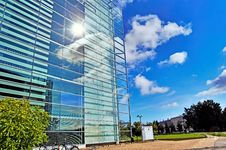 Free Glass Building With Sky Stock Photos - 21447163
