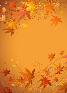 Free Autumn Background Stock Image - 21447621