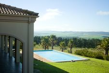 Free Summer Villa Swimming Pool Stock Images - 21447744