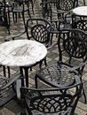 Free Chairs On Terrace Royalty Free Stock Image - 21453586