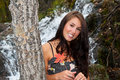 Free Attractive Girl In Autumn Royalty Free Stock Photos - 21457018