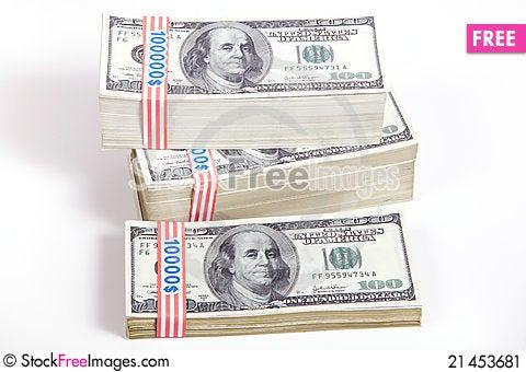 Free Money, Wealth Stock Image - 21453681