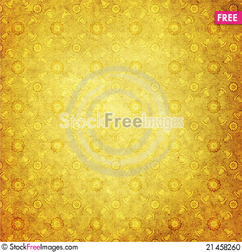 Free Paper With Vintage Ornament Stock Photo - 21458260