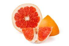 Free Cut Grapefruit Royalty Free Stock Photos - 21451218