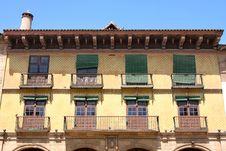 Free Poble Espanyol In Barcelona, Spain Royalty Free Stock Photo - 21451295