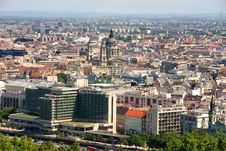 Free Budapest, Hungary, From Fortress Citadel Stock Image - 21451991
