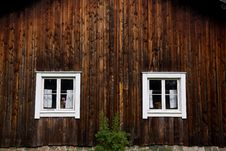 Free Wooden House Facade Stock Photography - 21453662